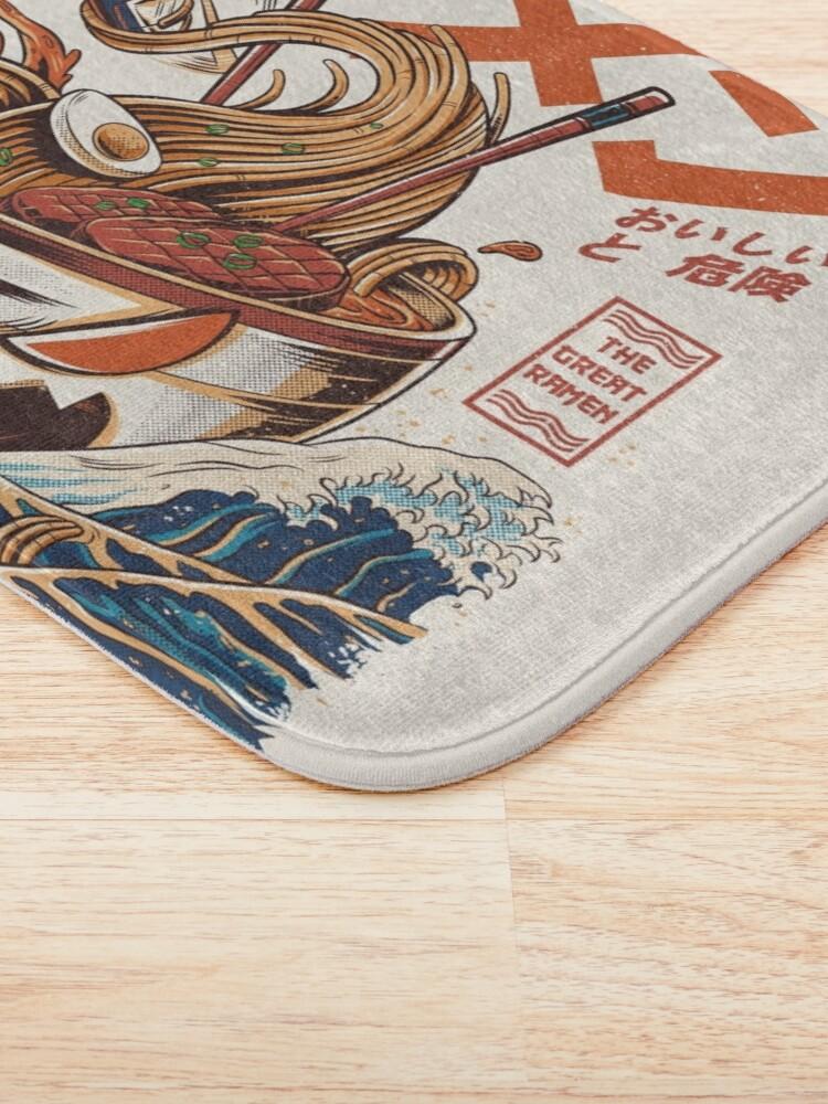 Alternate view of The Great Ramen off Kanagawa Bath Mat