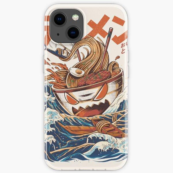 The Great Ramen off Kanagawa iPhone Soft Case
