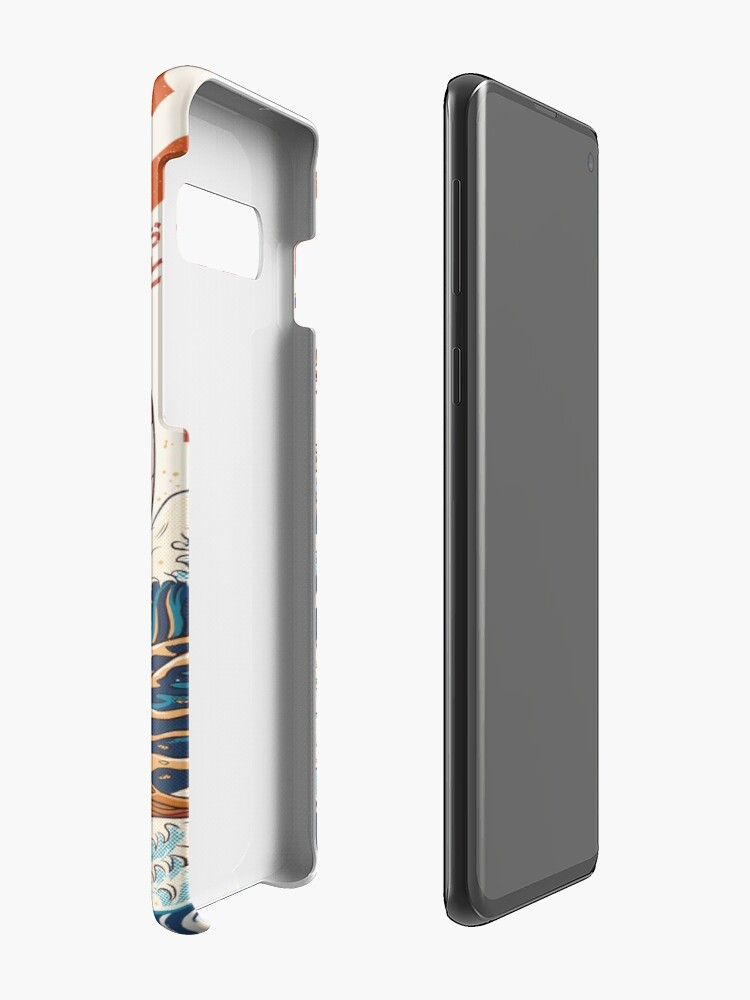 Alternate view of The Great Ramen off Kanagawa Case & Skin for Samsung Galaxy