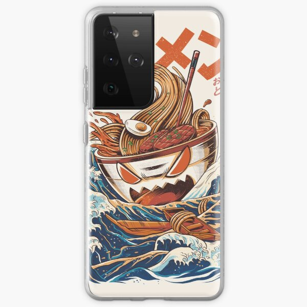 The Great Ramen off Kanagawa Samsung Galaxy Soft Case
