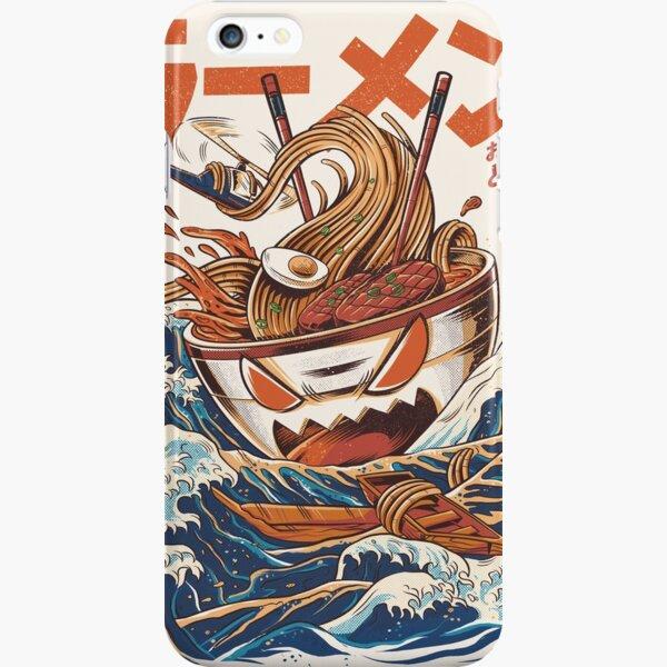 El gran ramen de Kanagawa Funda rígida para iPhone