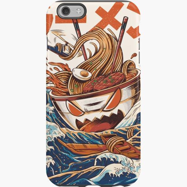 El gran ramen de Kanagawa Funda resistente para iPhone