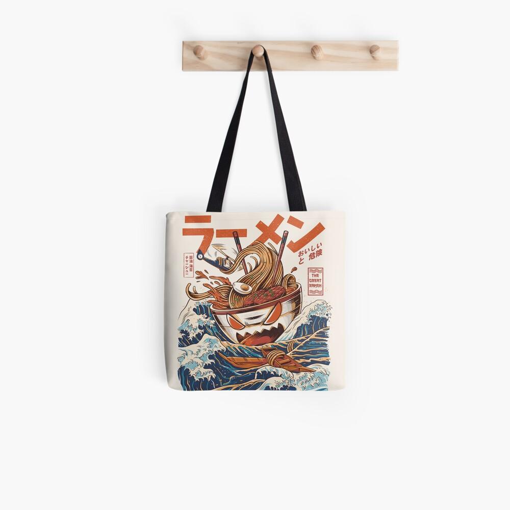 The Great Ramen off Kanagawa Tote Bag