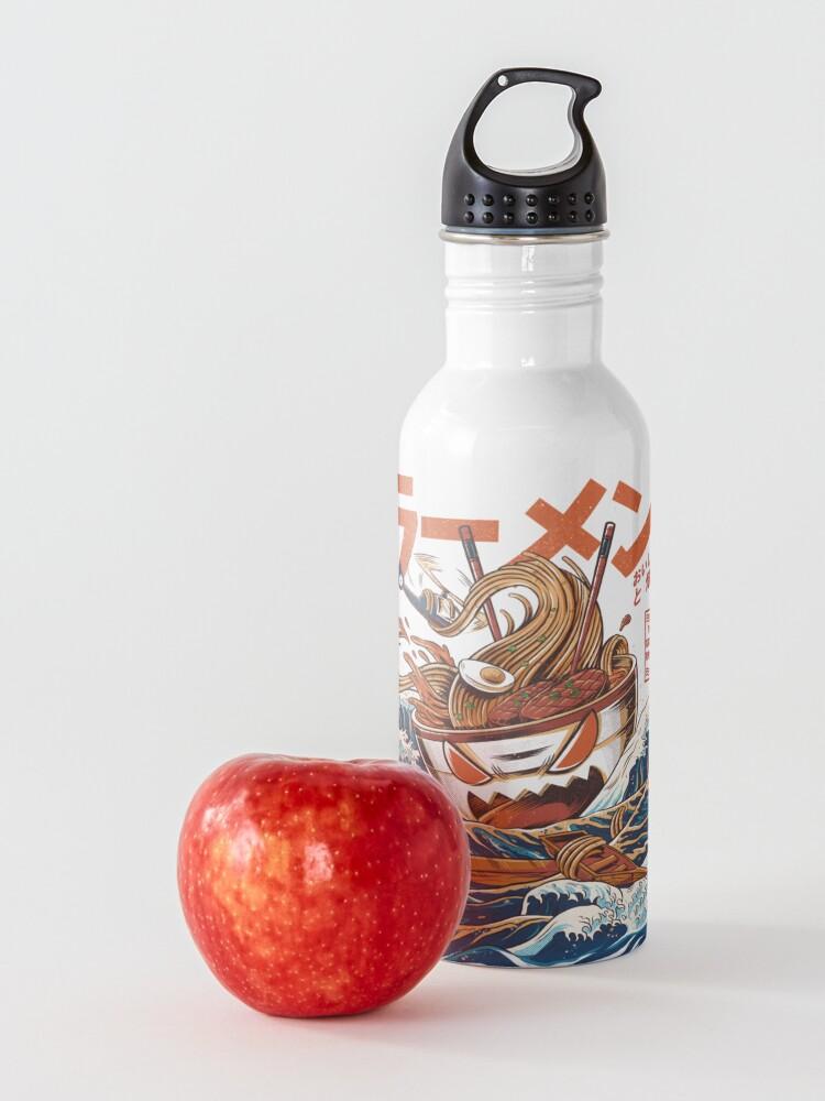 Alternate view of The Great Ramen off Kanagawa Water Bottle