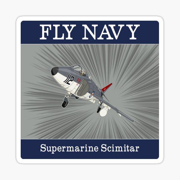 Supermarine Scimitar Sticker