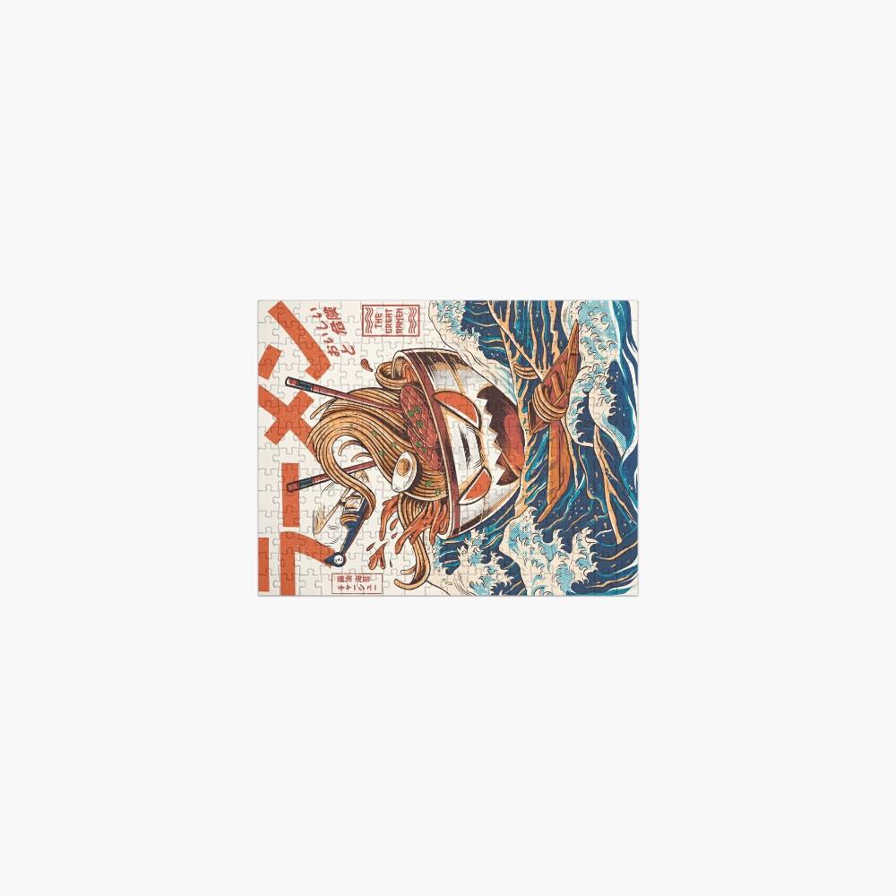 The Great Ramen off Kanagawa Jigsaw Puzzle
