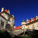 Proud Castle on a sunny day by christopher363