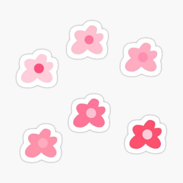 golf le fleur pink flowers Sticker