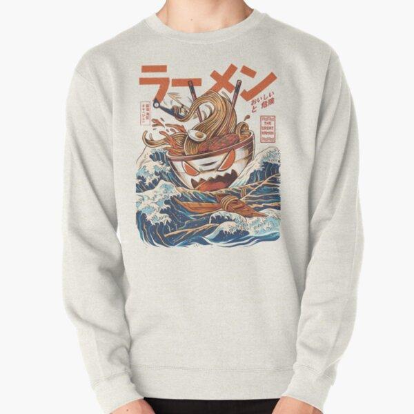 The Great Ramen off Kanagawa Pullover Sweatshirt
