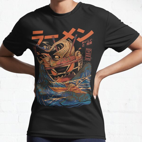 The Great Ramen off Kanagawa Active T-Shirt