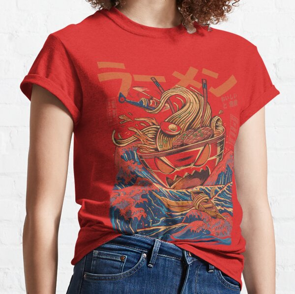 The Great Ramen off Kanagawa Classic T-Shirt