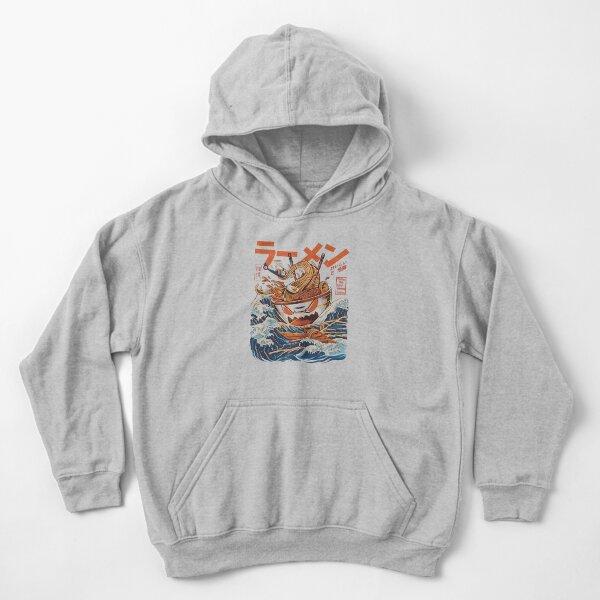 The Great Ramen off Kanagawa Kids Pullover Hoodie