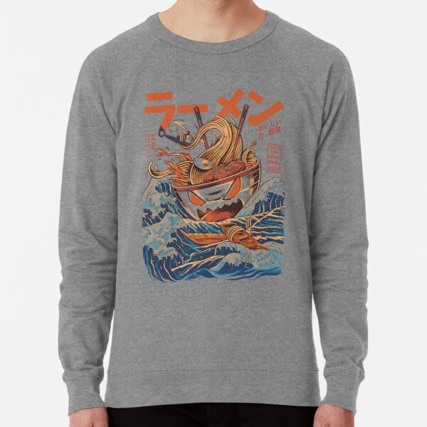The Great Ramen off Kanagawa Lightweight Sweatshirt