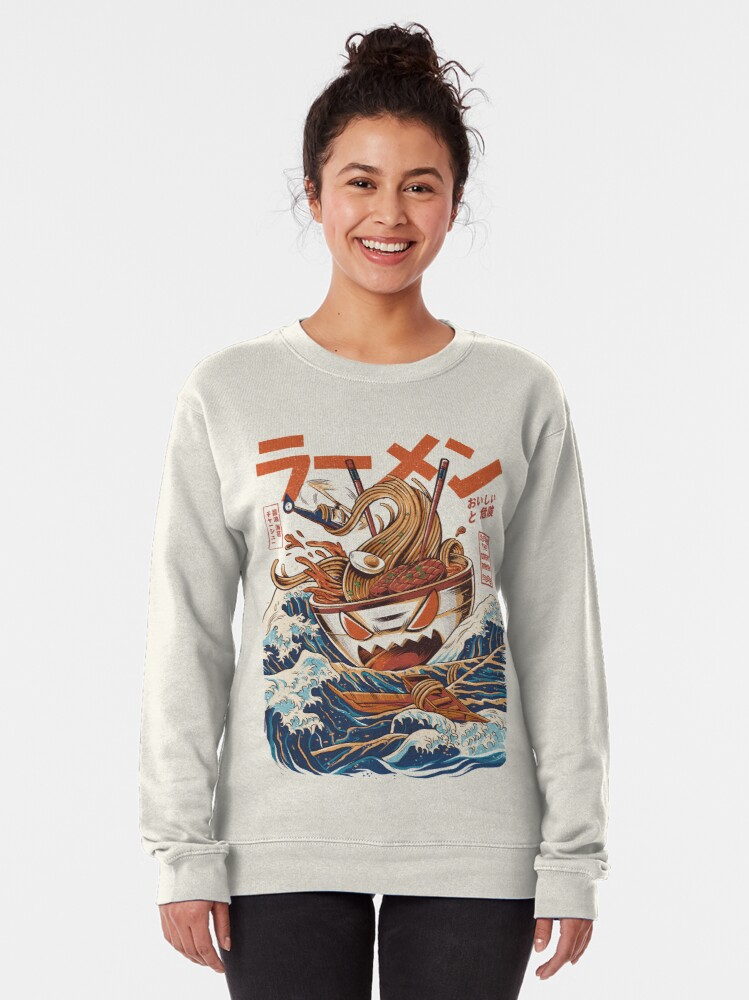 Alternate view of The Great Ramen off Kanagawa Pullover Sweatshirt