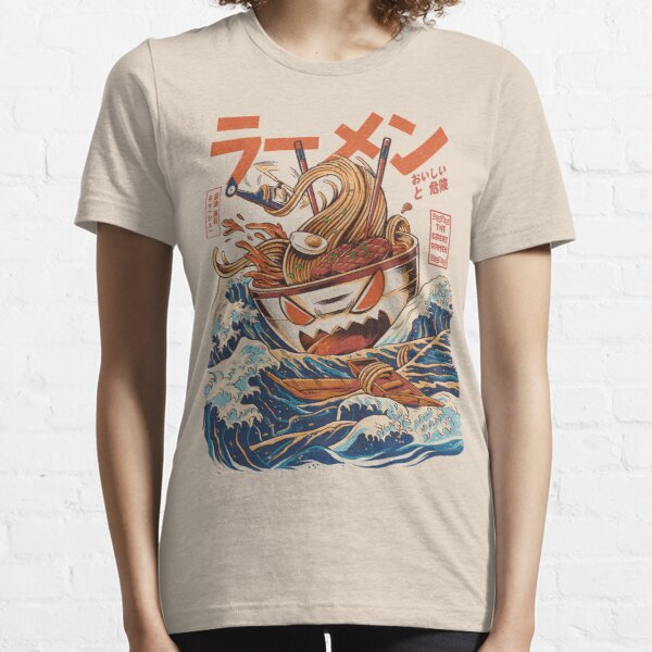 The Great Ramen off Kanagawa Essential T-Shirt