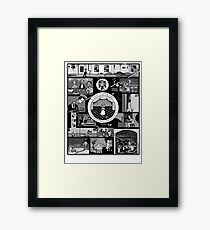 A Eraserhead story (in comic) Framed Print