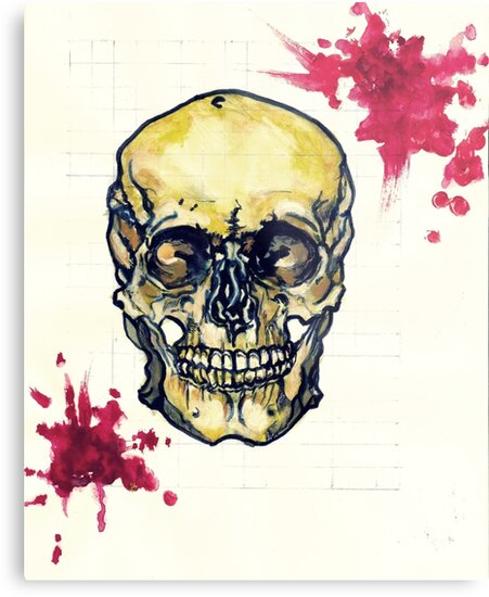 Bloody Skull by Haemoglory