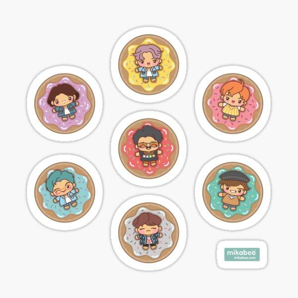 BTS Donuts Stickers Sticker