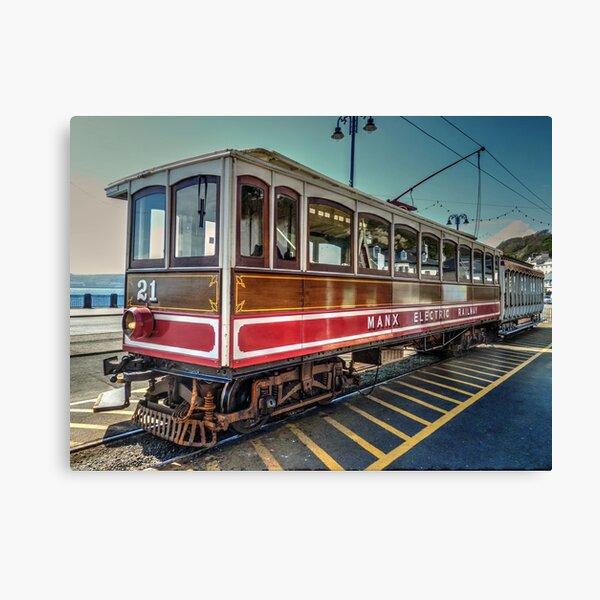 Manx Electric Tram Canvas Print