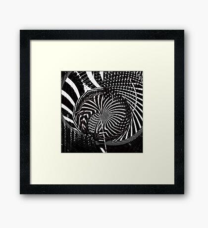 the evocation of pi Framed Print