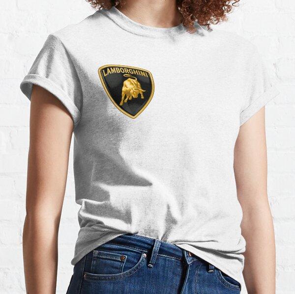 Lamborghini T shirt Petrolhead F1 Mens Nice Gift Idea Retro Lambo Logo Tee