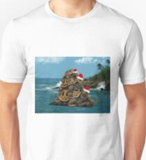 MM.. I LOVE TURTLES -- CHRISTMAS TURTLES -- PILLOW>TOTE BAG>PICTURE AND OR CARD Unisex T-Shirt