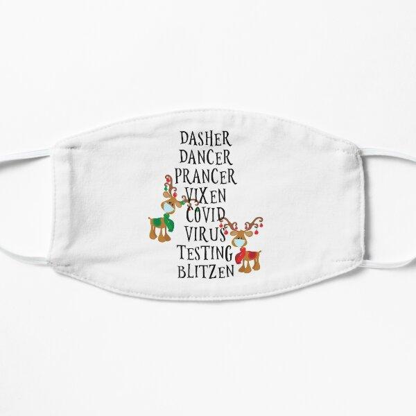 Christmas Holiday Reindeer Names Covid 2020  Mask