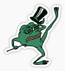 'Pepe' the Sad Dancing Frog Sticker