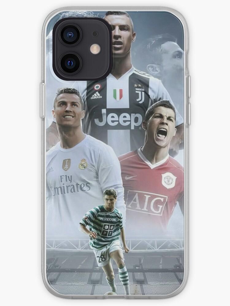 Cristiano Ronaldo dans ses clubs actuels et anciens (HD)   Coque iPhone