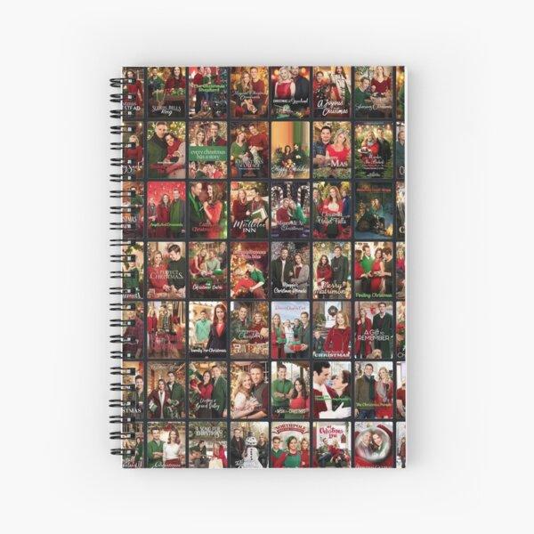 Hallmark collage movies  Spiral Notebook