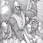 Norman Battle by matthewsart