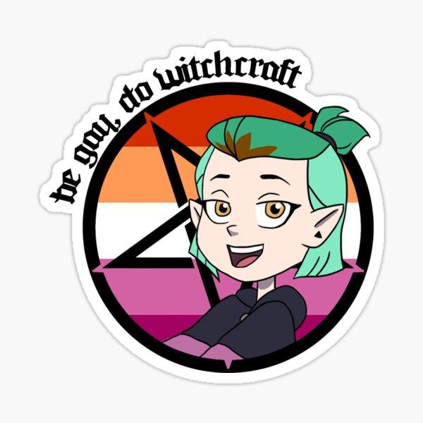 Amity - Be Gay, Do Witchcraft Sticker