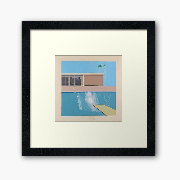 A Bigger Splash by David Hockney Framed Art Print