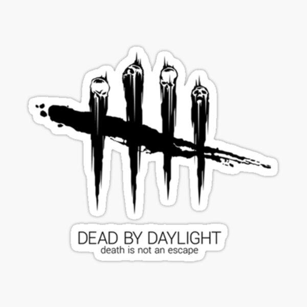 Logotipo de Dead By Daylight x Midnight Black Pegatina