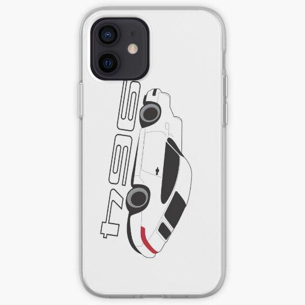 White Porsche 964 Phone Case iPhone Soft Case