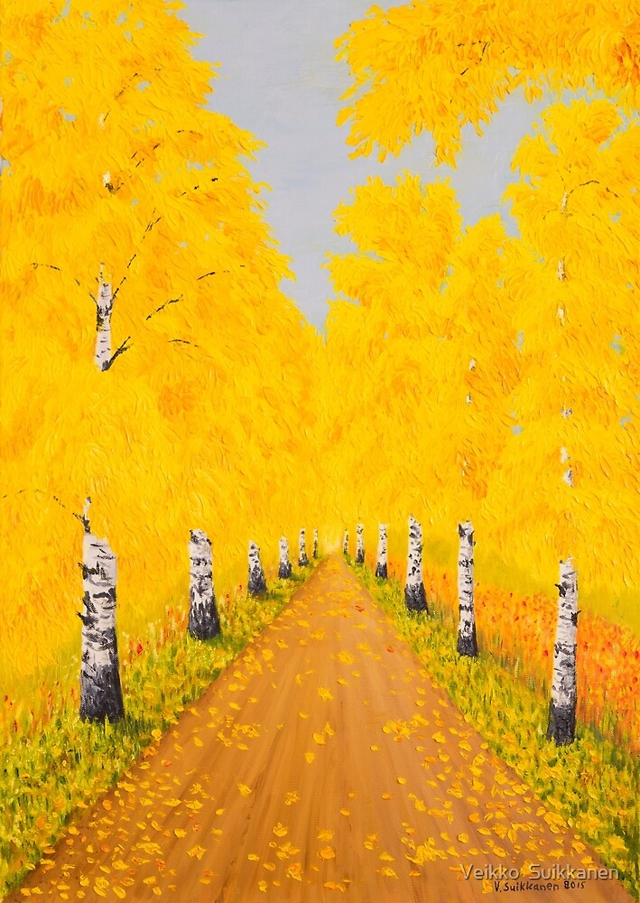 Golden Autumn by Veikko  Suikkanen