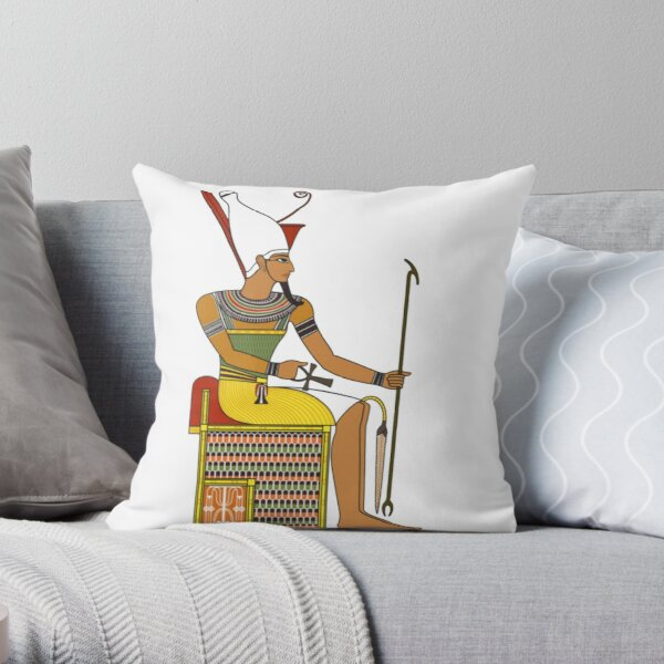 Ancient-Egypt Pharaoh IIIV Throw Pillow
