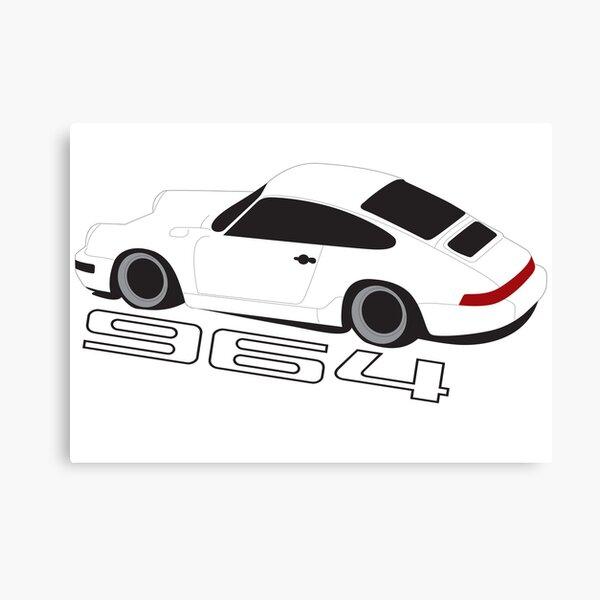 Porsche 964 Poster Canvas Print