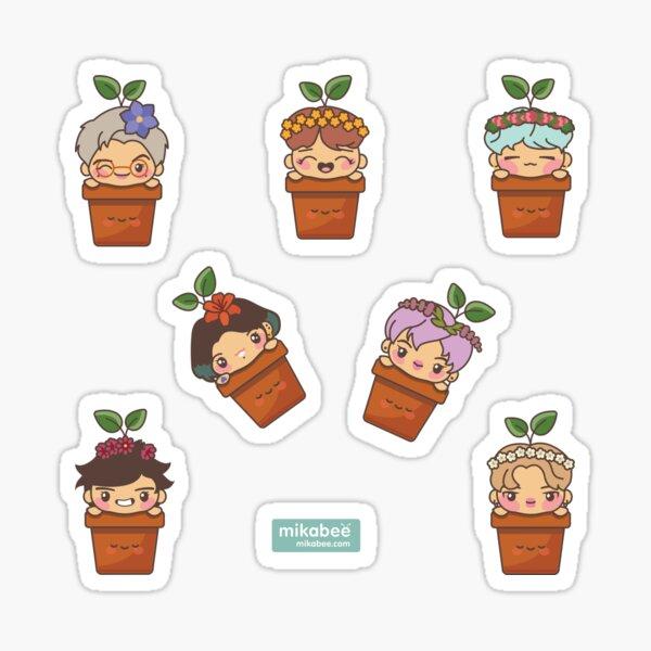 BTS Birthday Sprouts ~Stickers~ Sticker