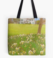 The Mansion in Spring Tote Bag