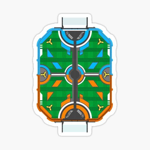 Le terrain de jeu Sticker