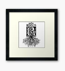 Back 2 the Roots Framed Print