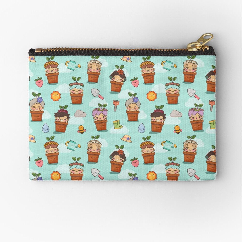 BTS Birthday Sprouts ~Pouches & Pillows~ Zipper Pouch