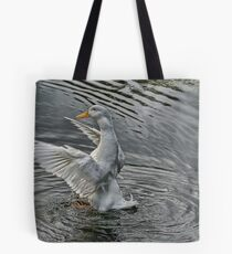 flapping Duck Tote Bag