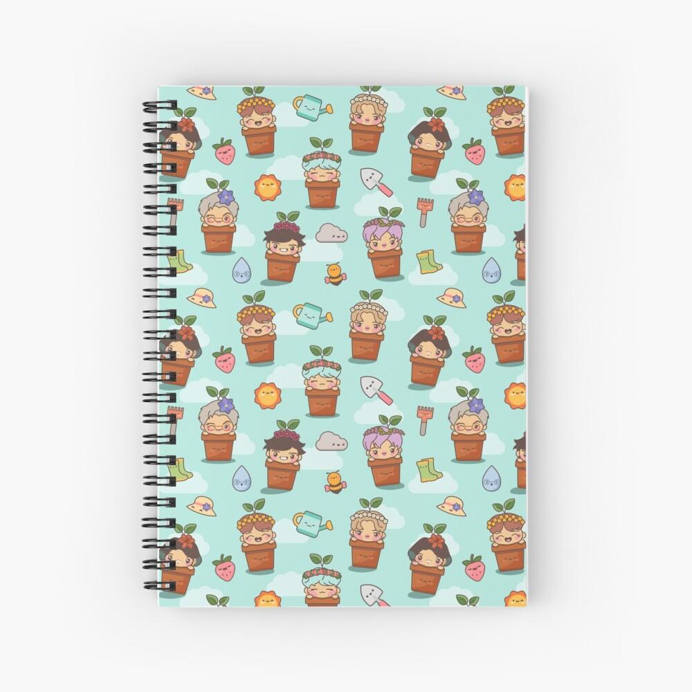 BTS Birthday Sprouts ~Journals & Notebooks~   Spiral Notebook