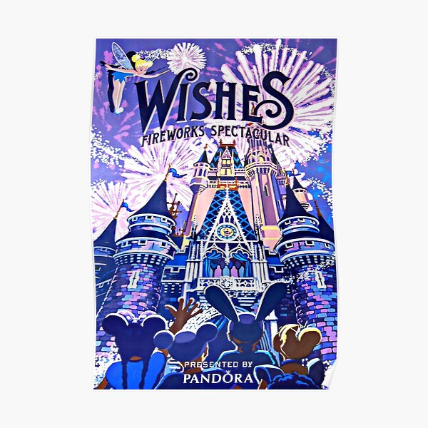 Wishes Fireworks Poster