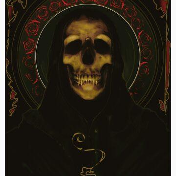 DEATH CARD. Studio600© by JeremyBeswick