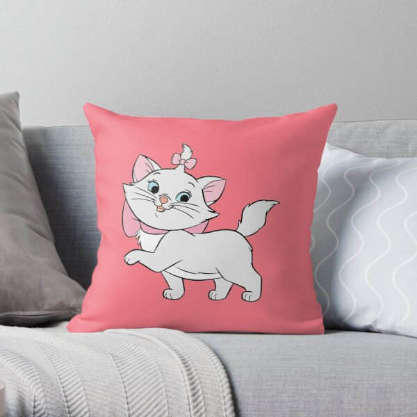 Classy Cat Throw Pillow