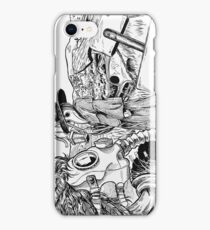 Death Masks iPhone Case/Skin
