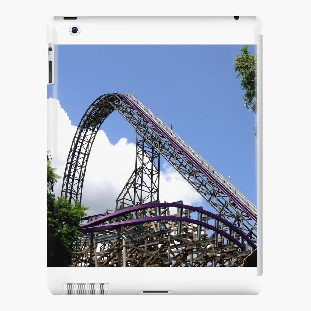 Iron Gwazi Roller Coaster at Busch Gardens, Tampa, FL iPad Case & Skin